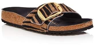 Birkenstock Women's Madrid Big Buckle Animal-Printed Slide Sandals - 100% Exclusive