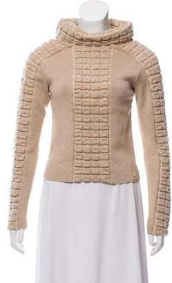 Chanel Wool Quilted Sweater