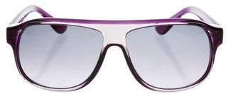 Tod's Oval Gradient Sunglasses w/ Tags