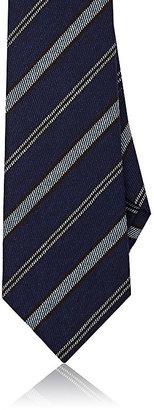 Isaia Men's Striped Wool-Silk Necktie $225 thestylecure.com