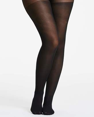 Naturally Close 3 Pack 40 Denier Black Opaque Tights