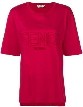 Fendi front logo T-shirt