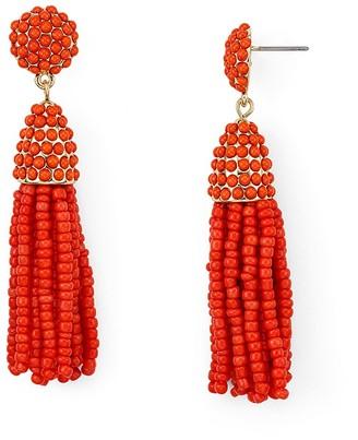 BAUBLEBAR Mini Piñata Tassel Drop Earrings $32 thestylecure.com