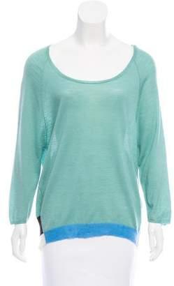 Dear Cashmere Wool Colorblock Sweater w/ Tags