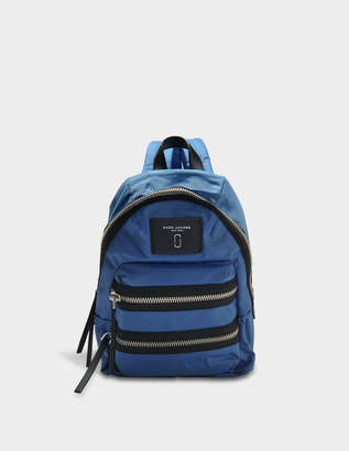 Marc Jacobs Nylon Biker Mini Backpack in Vintage Blue Nylon