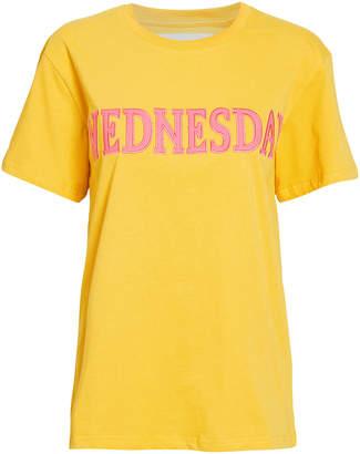 Alberta Ferretti Wednesday Yellow T-Shirt