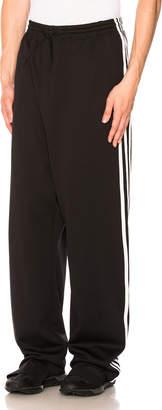 Yohji Yamamoto Y 3 3-Stripes Wide Pants