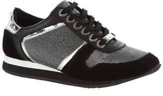 Kurt Geiger Carvela Lennie Metallic Sneaker