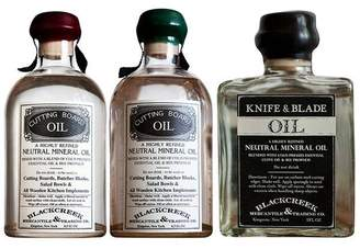 Co Blackcreek Mercantile & Trading Knife & Cutting Board Oils Set
