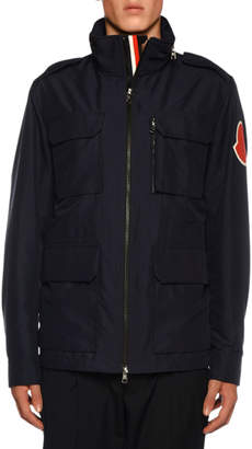 Moncler Men's Clavier Hooded Field Jacket