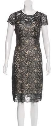 L'Agence Midi Lace Dress