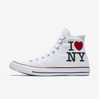 Converse Chuck Taylor All Star I Love NY High Top Unisex Shoe