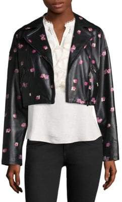 Rebecca Taylor Floriana Leather Jacket