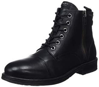 Pepe Jeans London Men's Tom-Cut Med Boot Classic (Black 999), (43 EU)