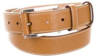 Prada Grain Leather Belt