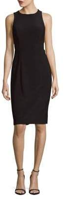 Betsy & Adam Sleeveless Sheath Dress