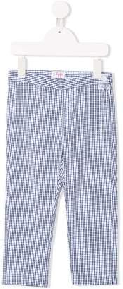 Il Gufo check trousers