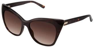 Ted Baker Womens Womens Wayfarer Sunglasses - Tortoise