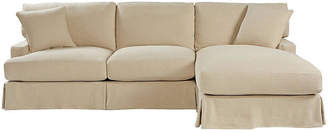 One Kings Lane Nelson Right-Facing Sectional - Natural