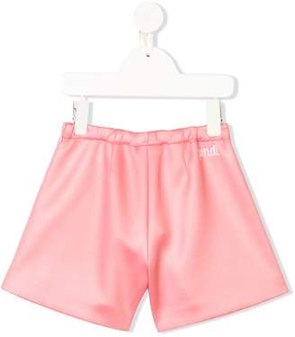 Fendi flared logo shorts