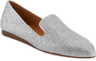 Veronica Beard Griffin Glitter Fabric Loafer