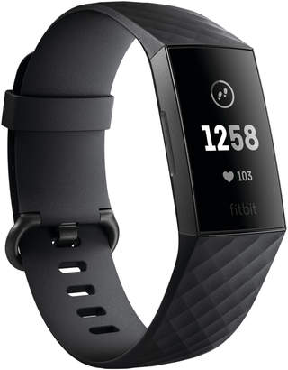 Fitbit Black Charge 3 Advanced Fitness Tracker