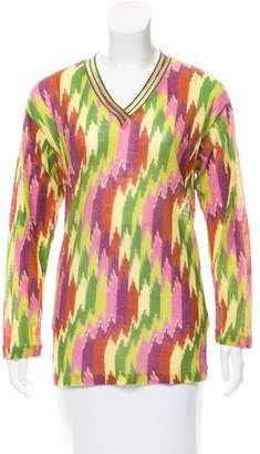 Missoni Wool Long Sleeve Top