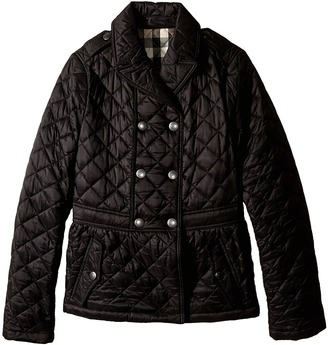 Burberry Kids - Portree Jacket Girl's Coat $265 thestylecure.com