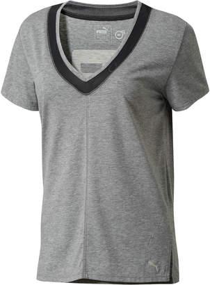 Slouchy-V Mesh T-Shirt