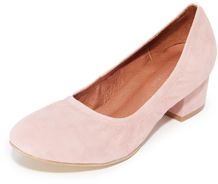 Jeffrey Campbell Jeffrey Campbell Bitsie Suede Pumps