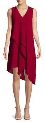 Adrianna Papell Asymmetrical Mini Dress
