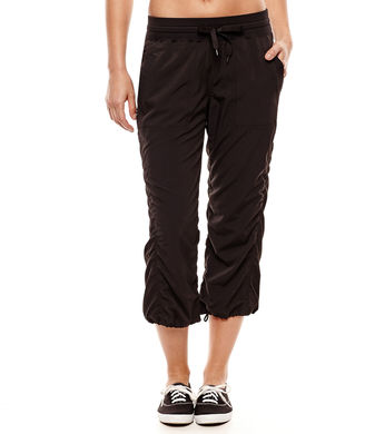 Xersion Woven Capris $44 thestylecure.com