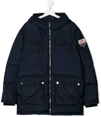 DSQUARED2 TEEN padded pocket coat