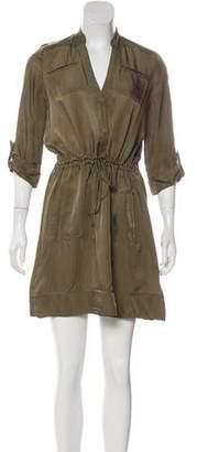 Diane von Furstenberg Satin Mini Dress