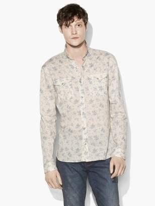 John Varvatos Vintage Floral Shirt
