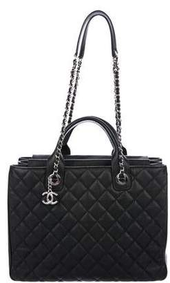 Chanel 2018 Large Quilted Accordion Tote