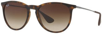 Ray-Ban Erika RB4171 54mm Pilot Gradient Sunglasses
