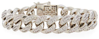 Fallon Armure Pave Curb Chain Bracelet