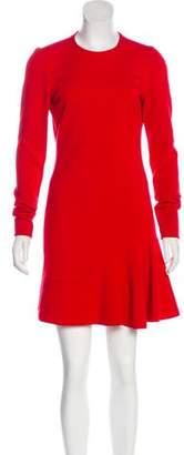 Alexander McQueen Wool Jersey Mini Dress w/ Tags
