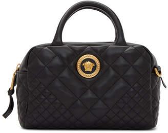 Versace Black Small Icon Duffle Bag