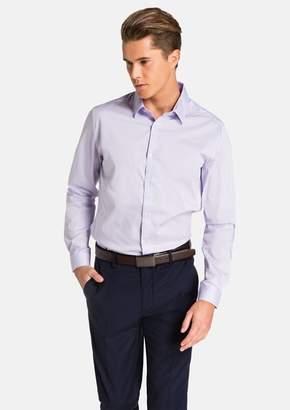 yd. Plain Stretch Slim Fit Shirt