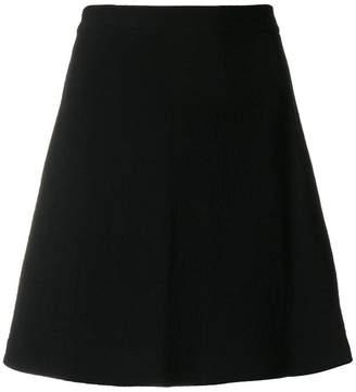 Neil Barrett short A-line skirt