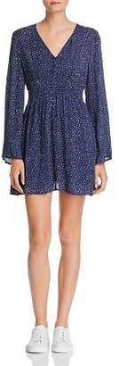 En Creme Dot-Print Dress