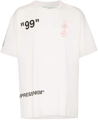 Off-White oversized Impressionism T-shirt