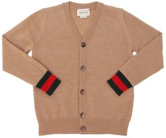 Gucci Merino Wool Knit Cardigan