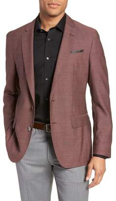 BOSS Hartlay Trim Fit Wool Blazer