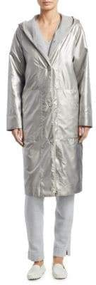 Akris Paradiso 2-in-1 Long Coat