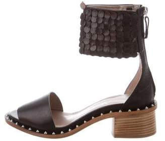 AGL Leather Ankle Strap Sandals w/ Tags