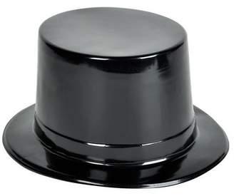 "DollarItemDirect 21.5"" BLACK PLASTIC TOP HAT, Case of 144"