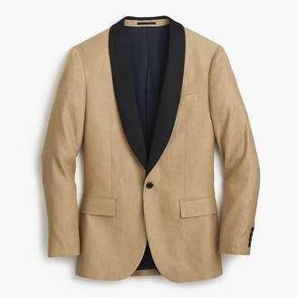 J.Crew Ludlow Slim-fit shawl-collar tuxedo jacket in linen-silk